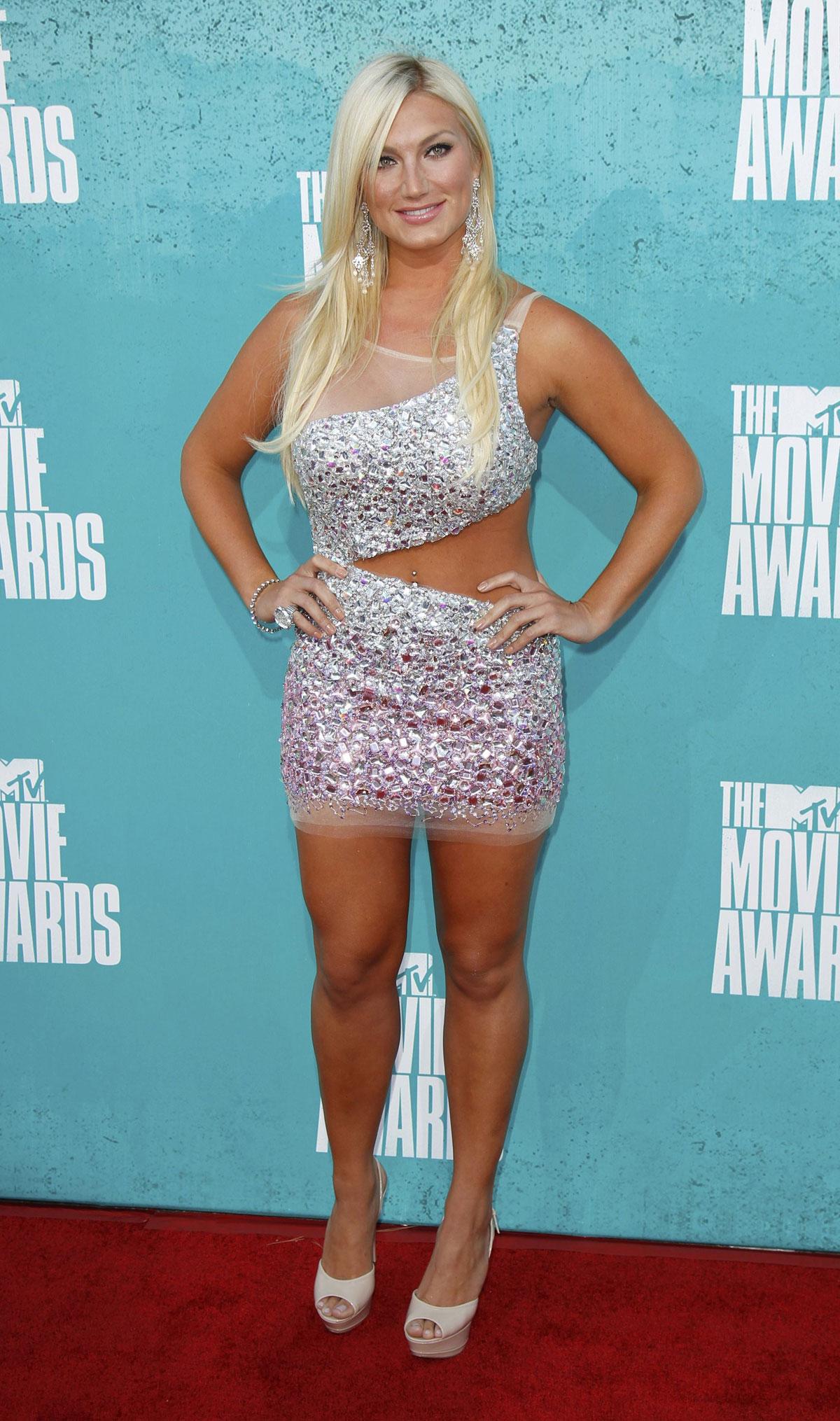BROOKE HOGAN at MTV Movie Awards 2012 at Universal Studios in Los    Brooke Hogan 2013