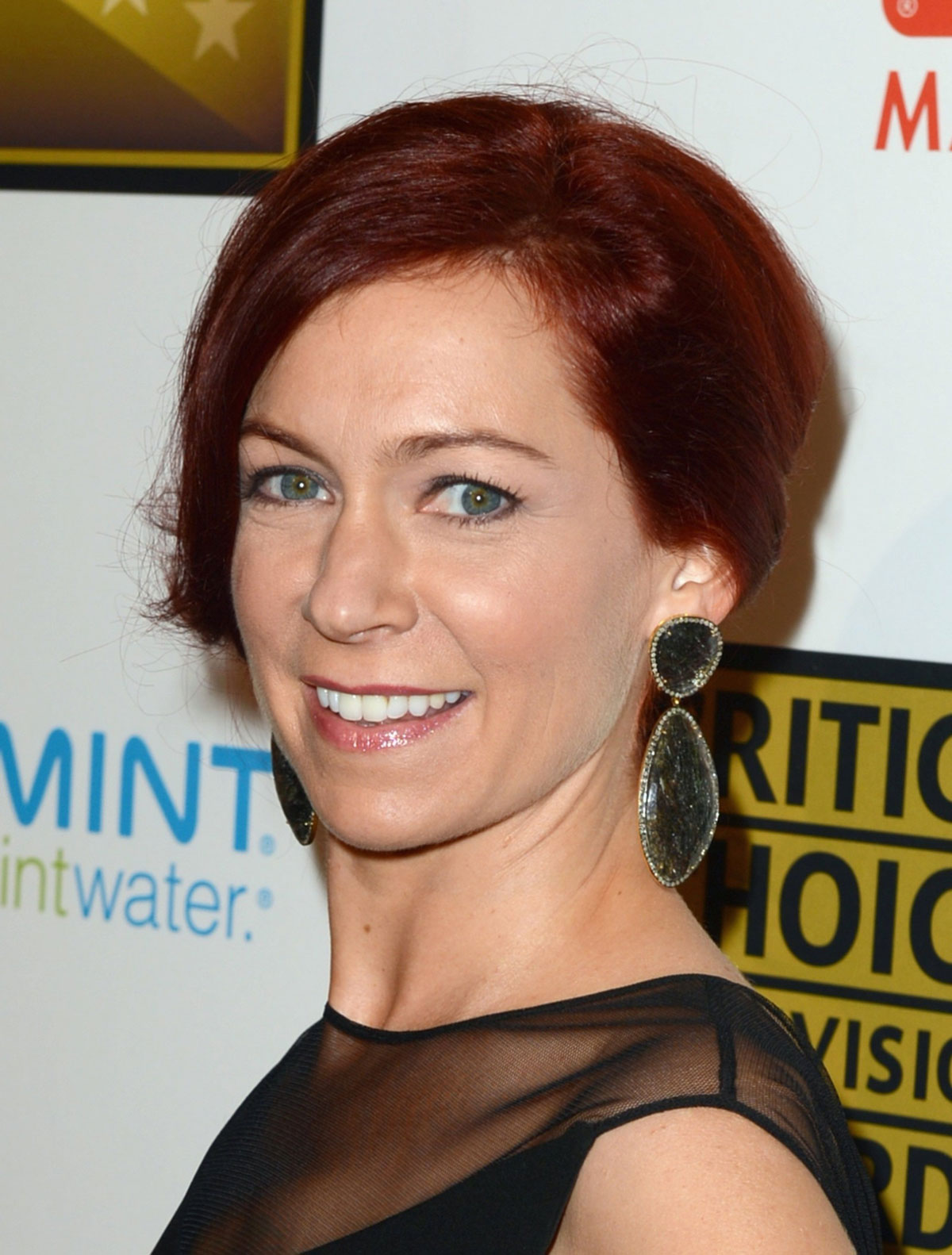 Carrie Preston At The 2nd Annual Critics Choice Television Awards