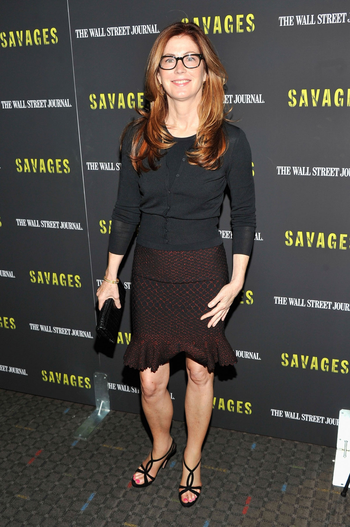 DANA DELANY at Savages Premiere in New York - HawtCelebs