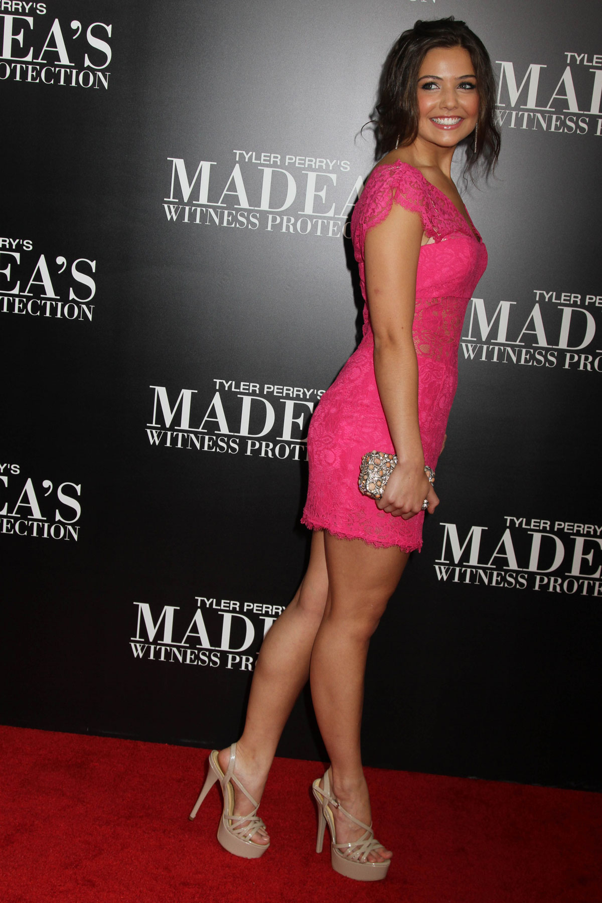 DANIELLE CAMPBELL at Madeas Witness Protection Premiere in ...