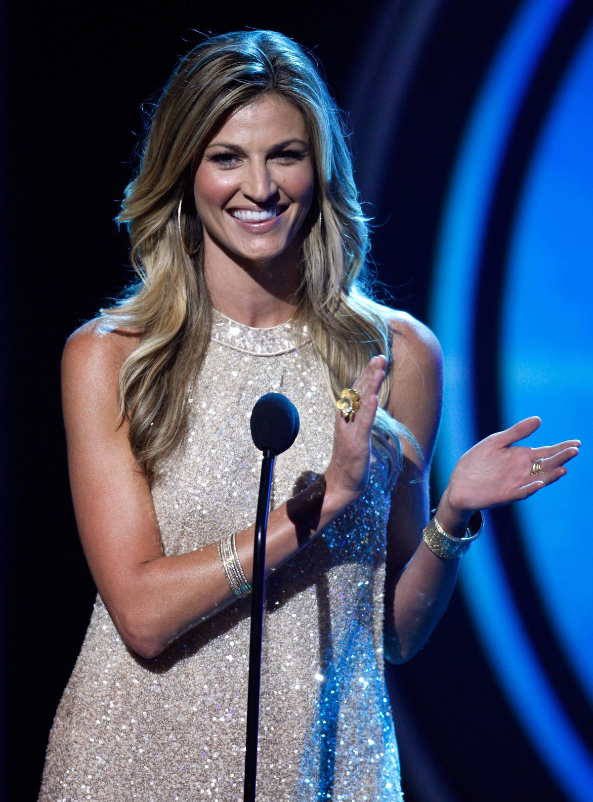 ERIN ANDREWS at 2012 NHL Awards in Las VegasErin Andrews Nhl Awards