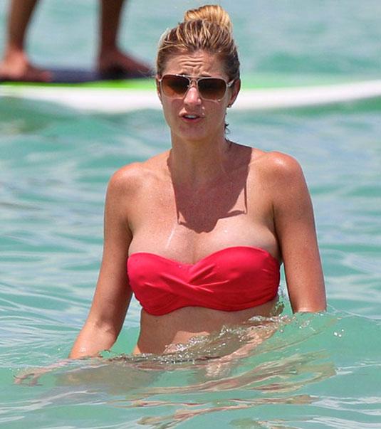 ERIN ANDREWS in Bikini at the Beach - 58.6KB