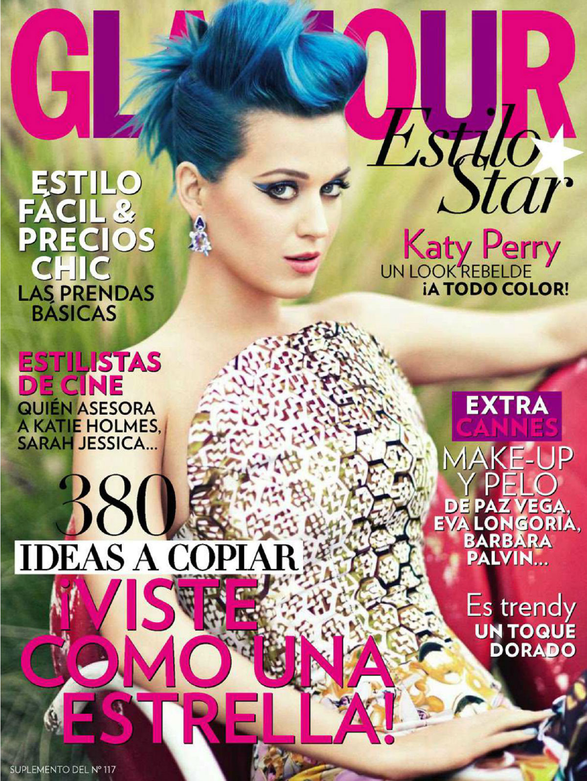 KATY PERRY In Glamour Magazine, Spain July 2012 Issue