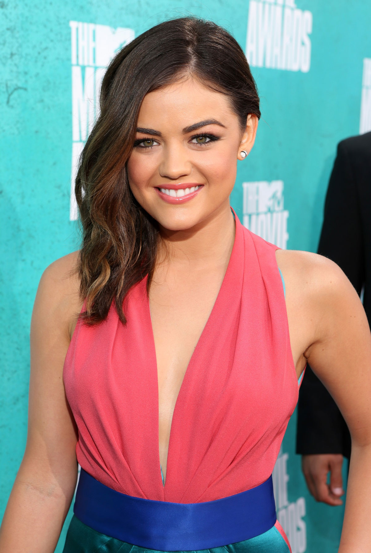 Lucy hale at mtv movie awards 2012 at universal studios in los angeles