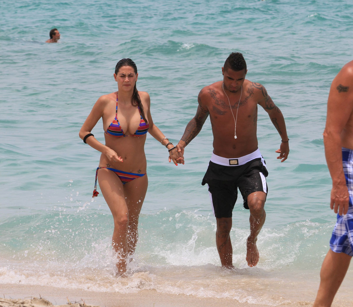 Melissa Satta And Kevin Prince