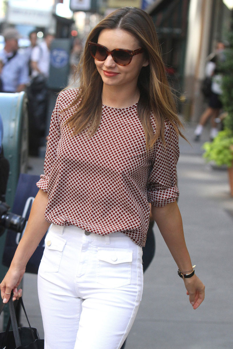Miranda kerr out and about in new york hawtcelebs hawtcelebs