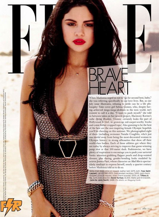 Selena gomez in elle magazine july 2012 issue hawtcelebs for Where to buy elle magazine