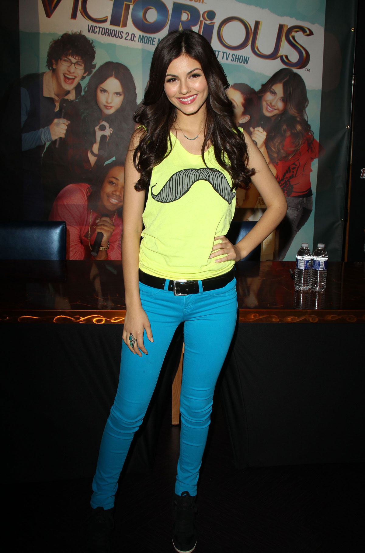 Victoria Justice At Victorious Soundtrack Signing At The