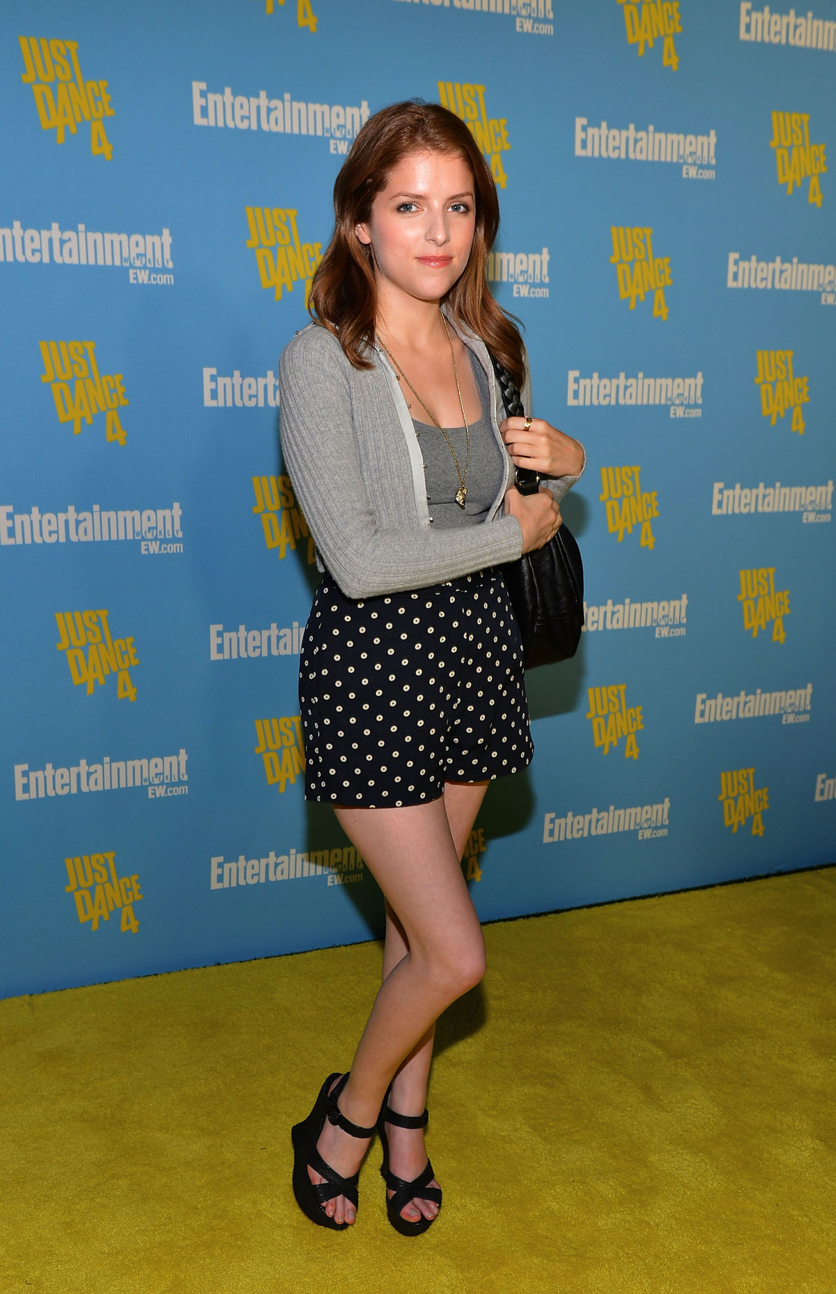 ANNA KENDRICK At Entertainment Weekly Party
