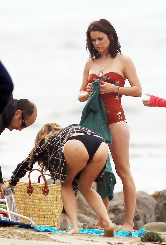 Jessica stroup in a bikini