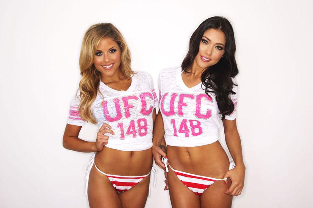 Brittney Palmer And Arianny Celeste Ufc