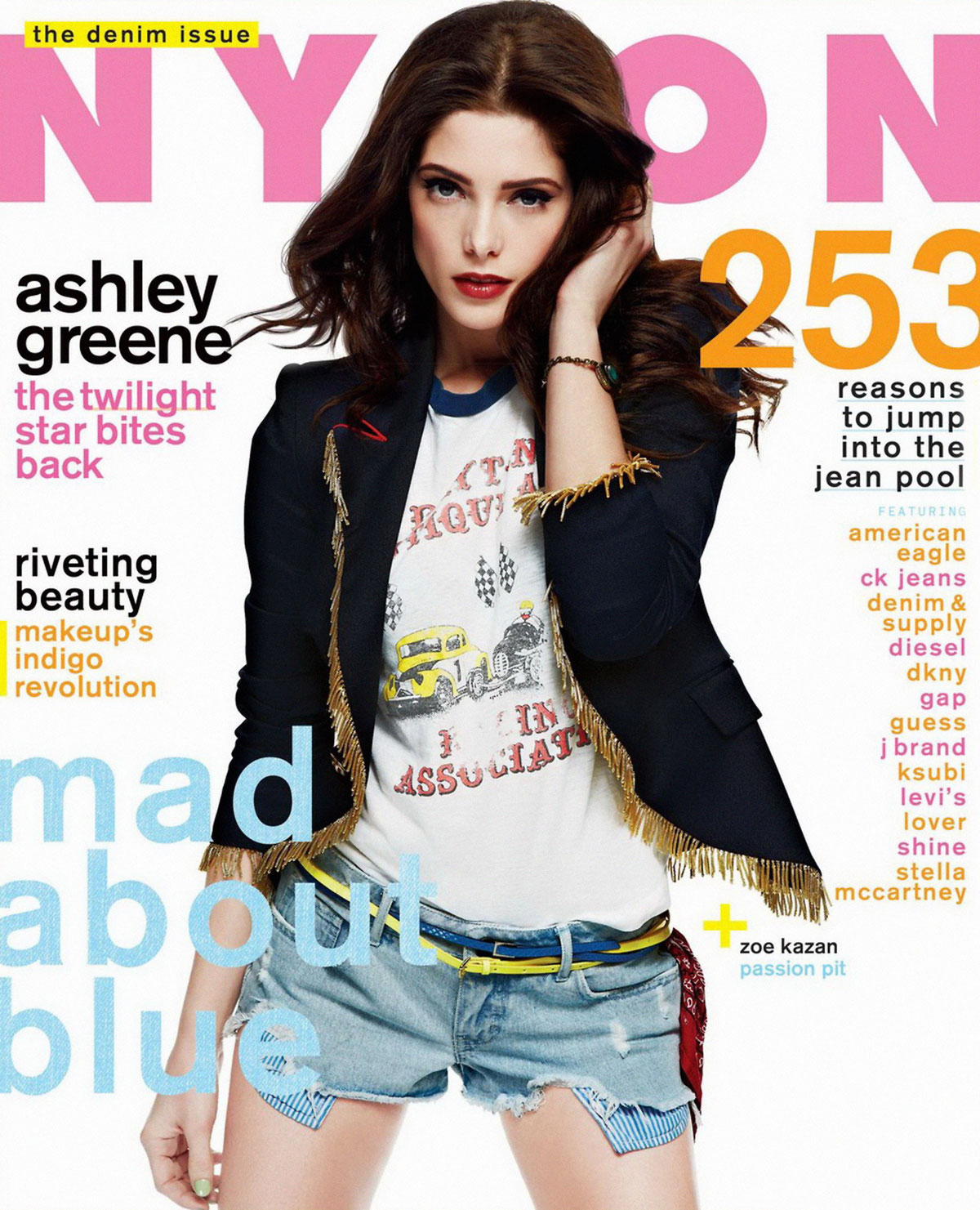 About Nylon Magazine 95