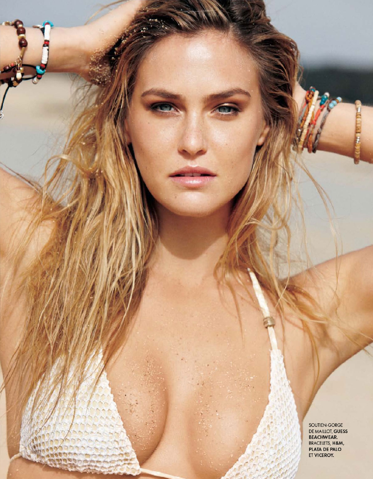 BAR REFAELI in Elle Magazine, France July 2012 Issue
