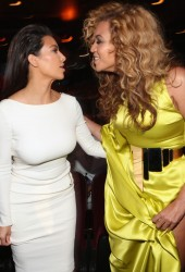 BEYONCE and KIM KARDASHIAN
