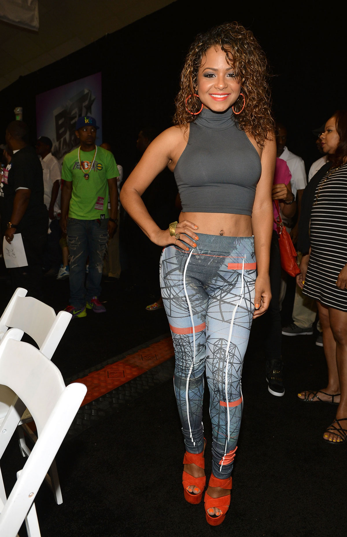 Christina Milian At Bet Awards In Los Angeles Hawtcelebs