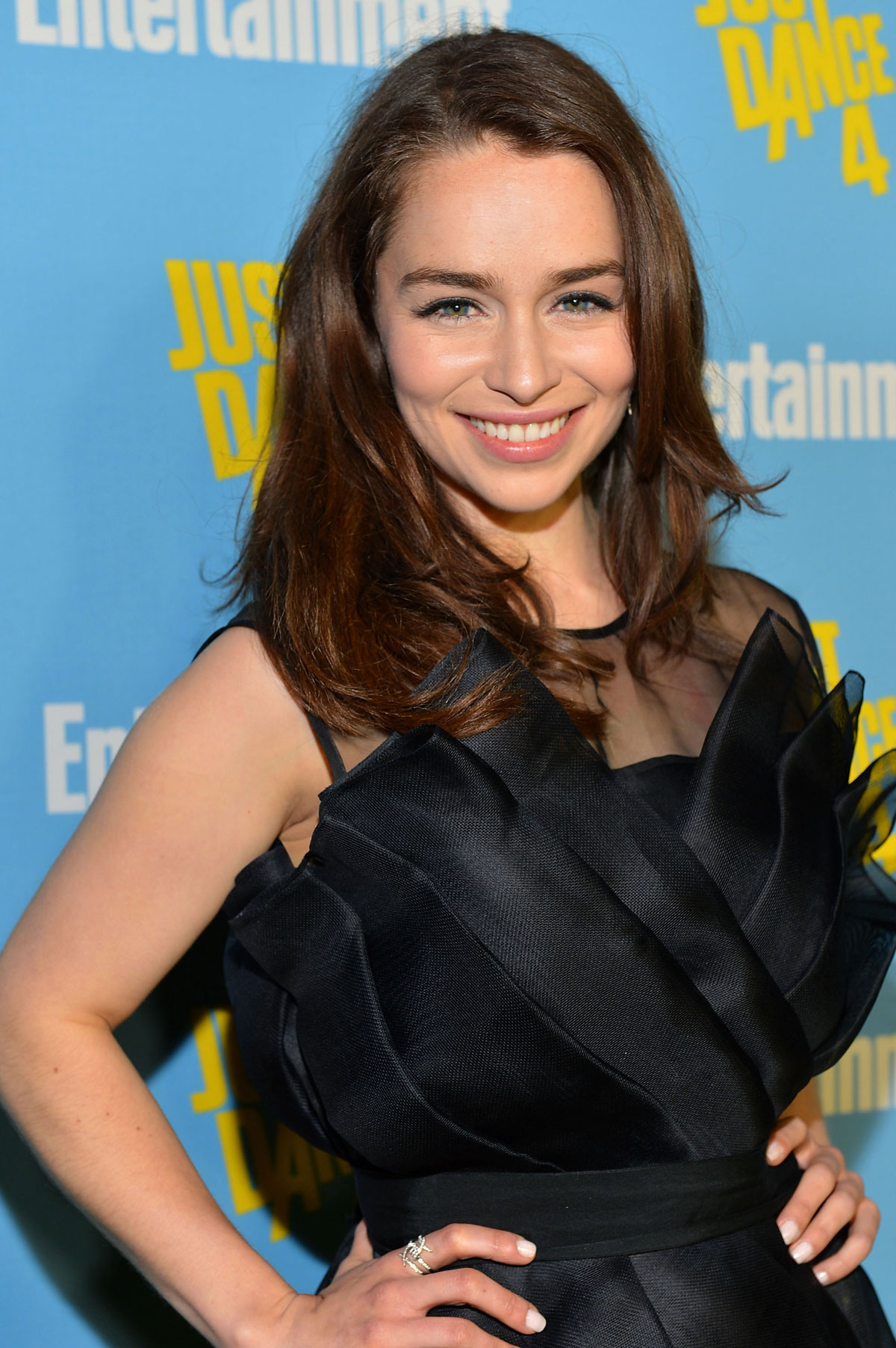 emilia clarke at entertainment weekly party at comiccon