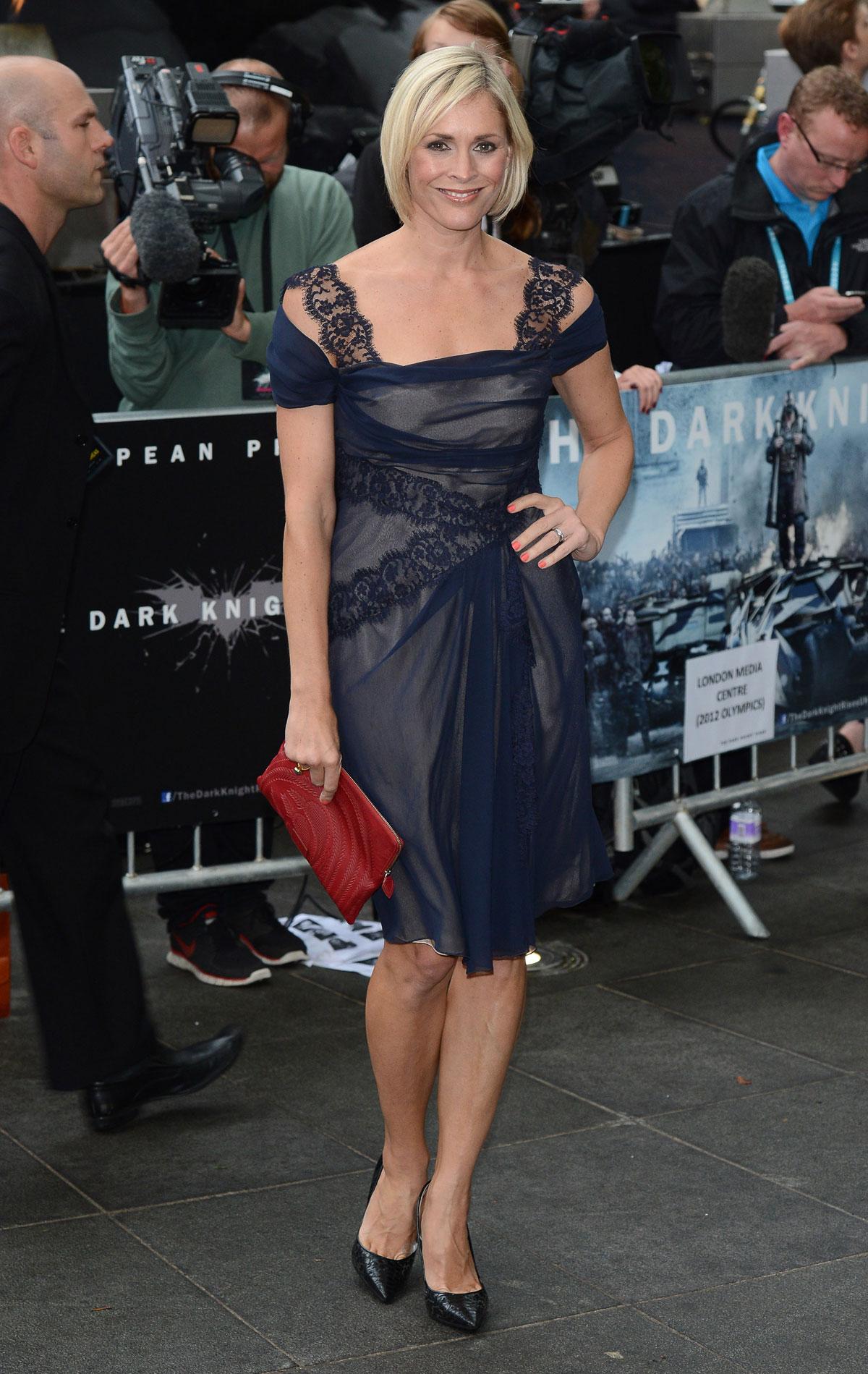 jenni falconer at the dark knight rises premiere in london