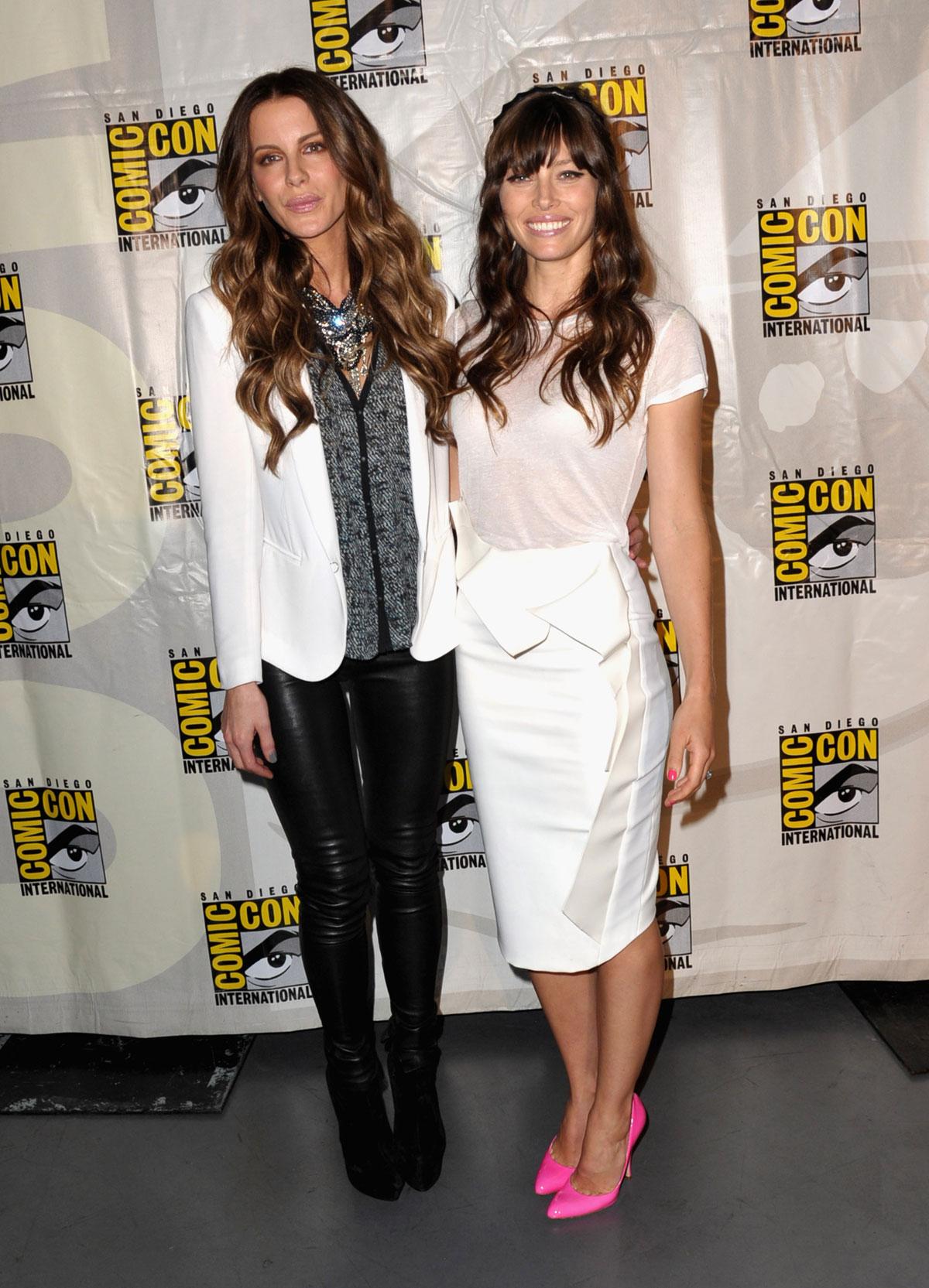 Kate Beckinsale And Jessica Biel