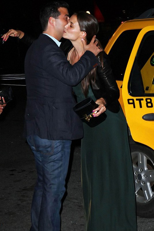 KATIE HOLMES and Jonathan Wolfe