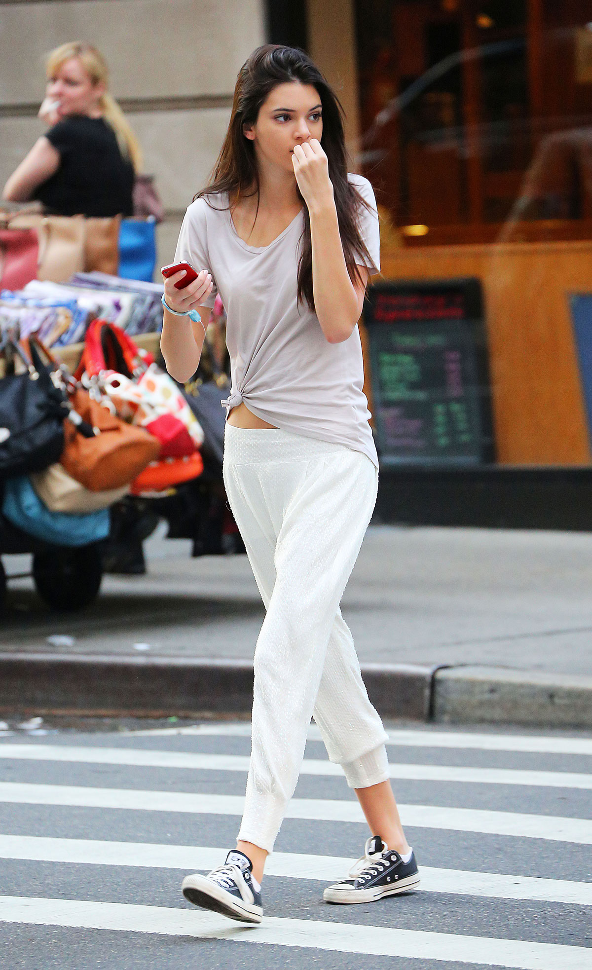 Kendall And Kris Jenner Out And About In New York Hawtcelebs Hawtcelebs