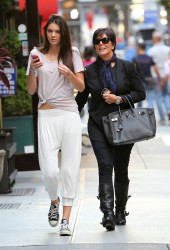 KENDALL and Kris JENNER