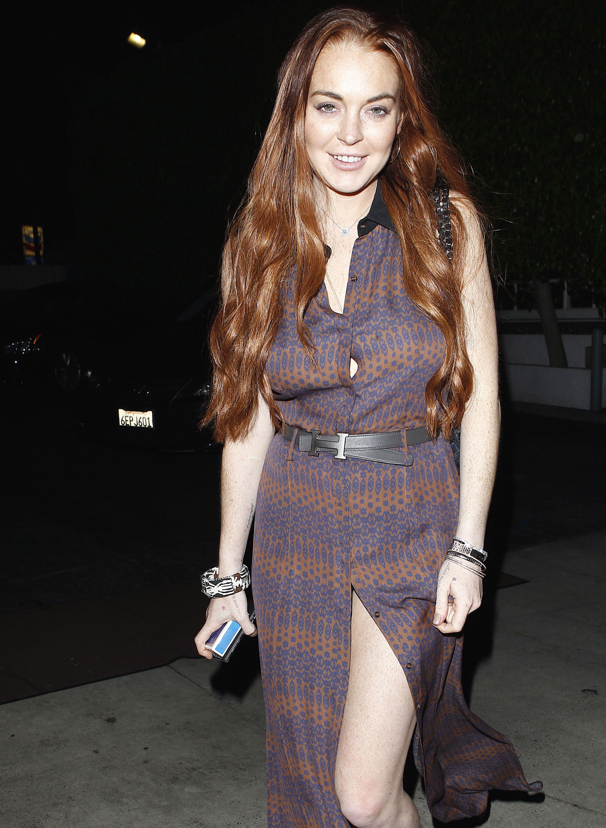 Lindsay Lohan Leaving A Restaurant In Malibu - Hawtcelebs-5650