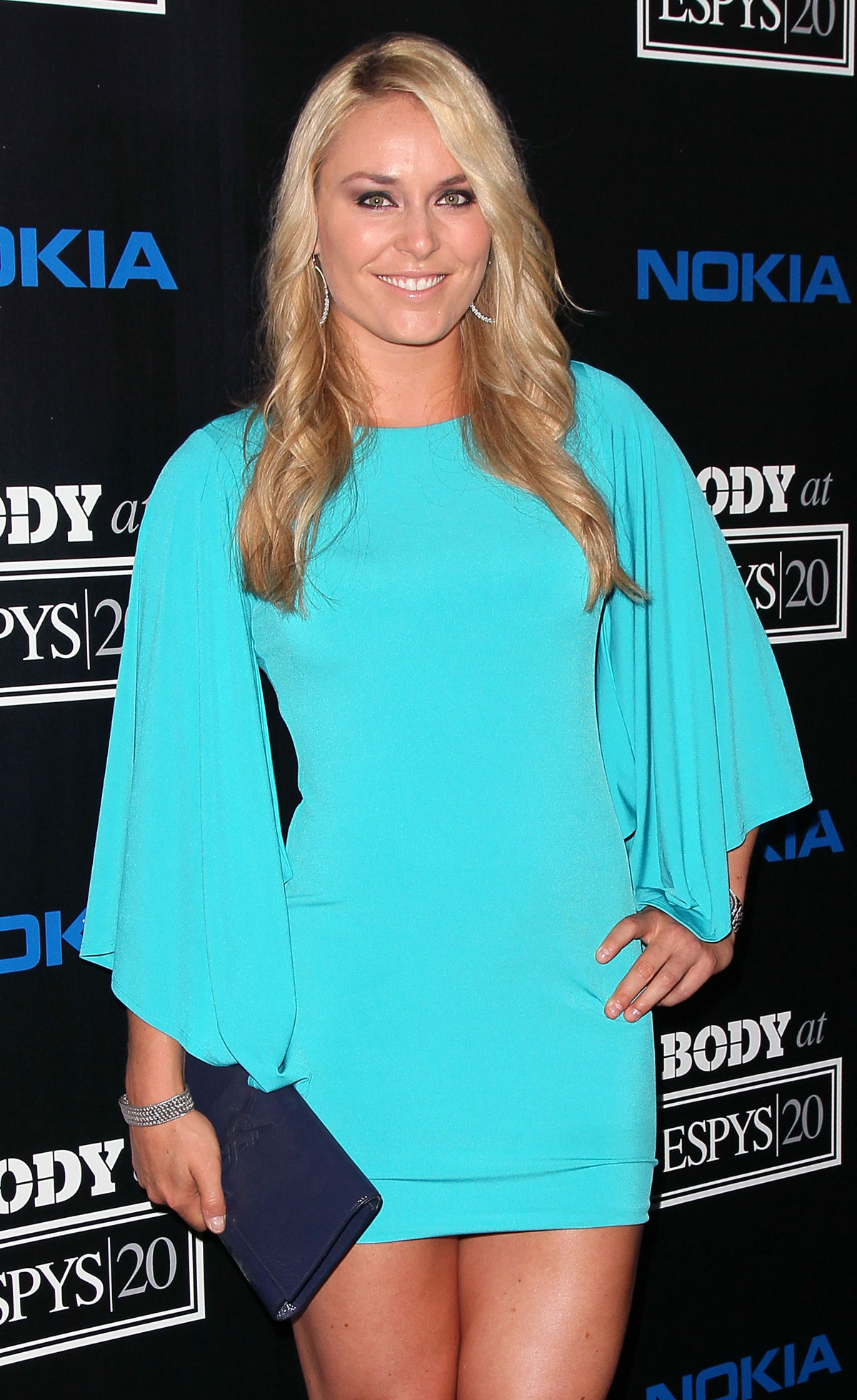 LINDSEY VONN at ESPN's Body Issue Party in Los Angeles