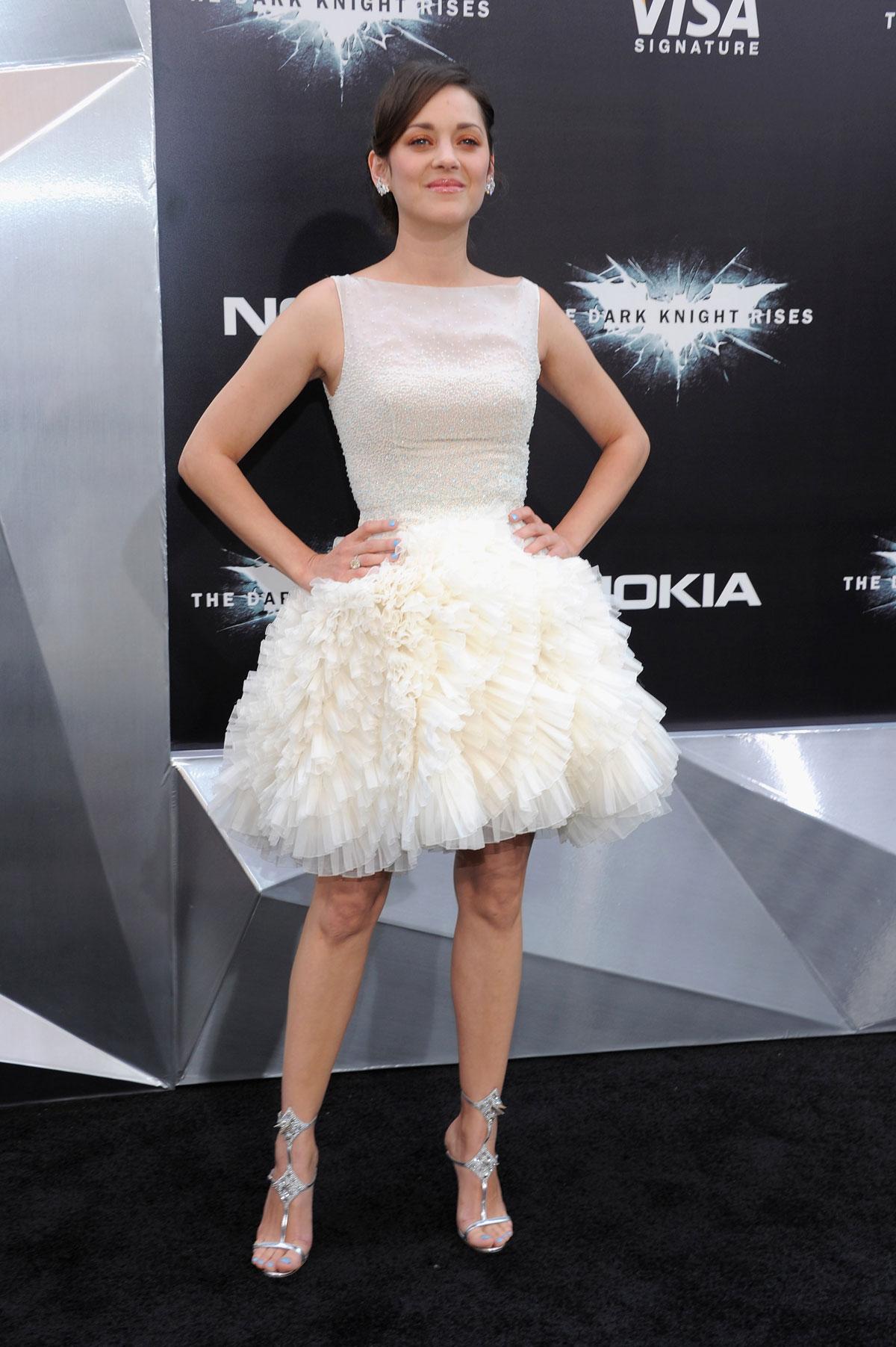 Marion Cotillard At Dark Knight Rises Premiere Hawtcelebs