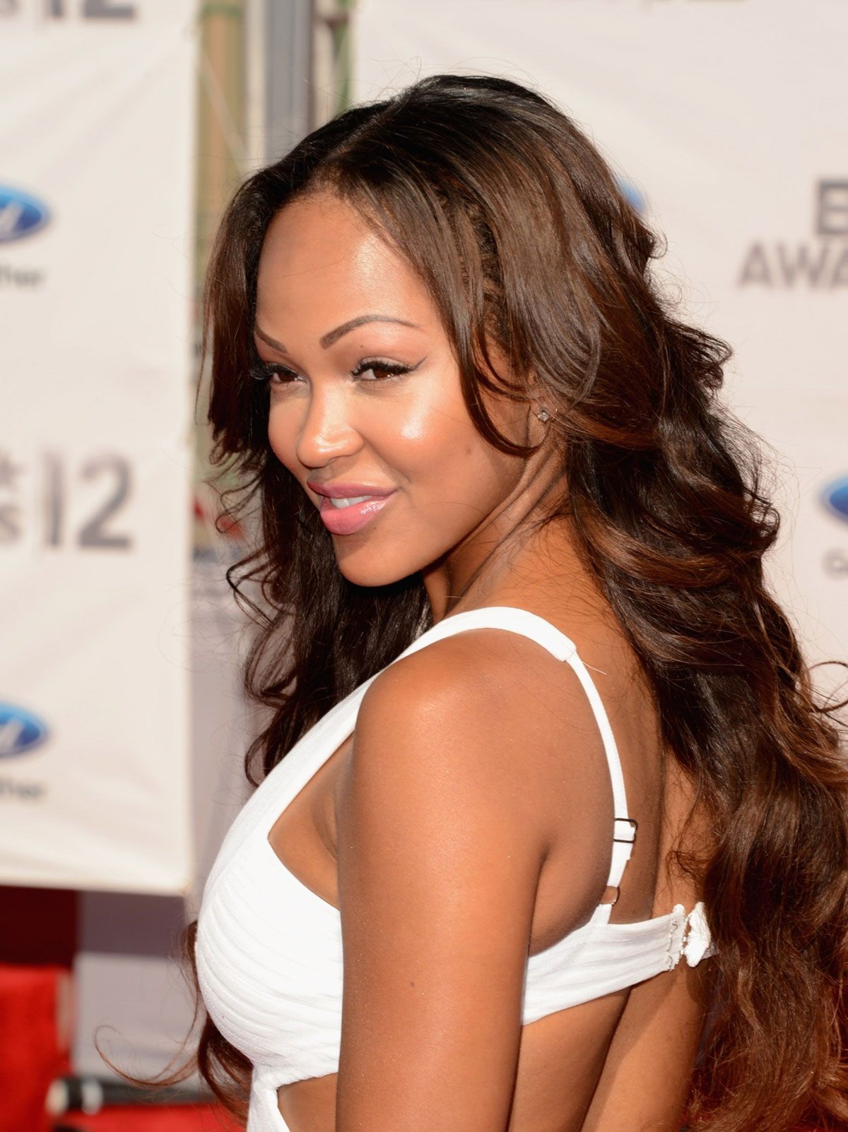 Meagan Good At Bet Awards In Los Angeles Hawtcelebs