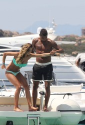 MELISSA SATTA and Kevin Prince Boateng