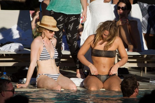NICOLA ROBERTS and KIMBERLEY WALSH