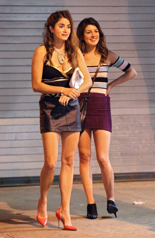 NIKKI REED and SHENAE GRIMES