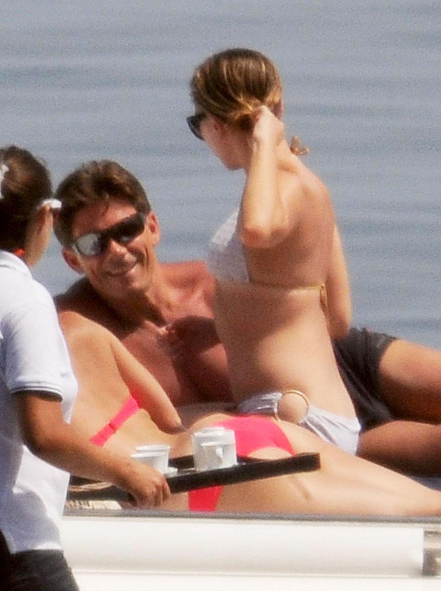 245df8e1859 SCARLETT JOHANSSON in Bikini on a Yacht – HawtCelebs