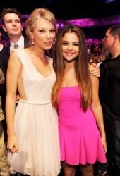 SELENA GOMEZ and Tylor Swift