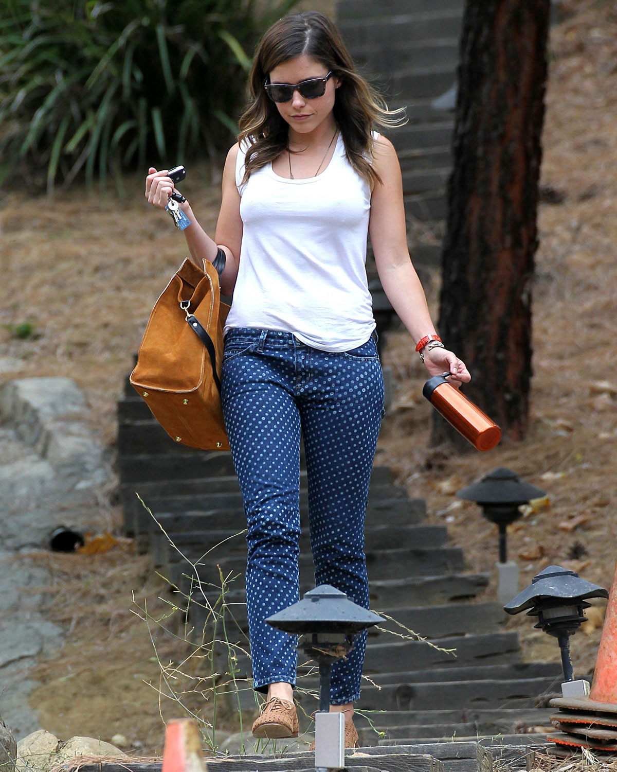 Sophia bush a friends house in los angeles desirulez me Sophia house