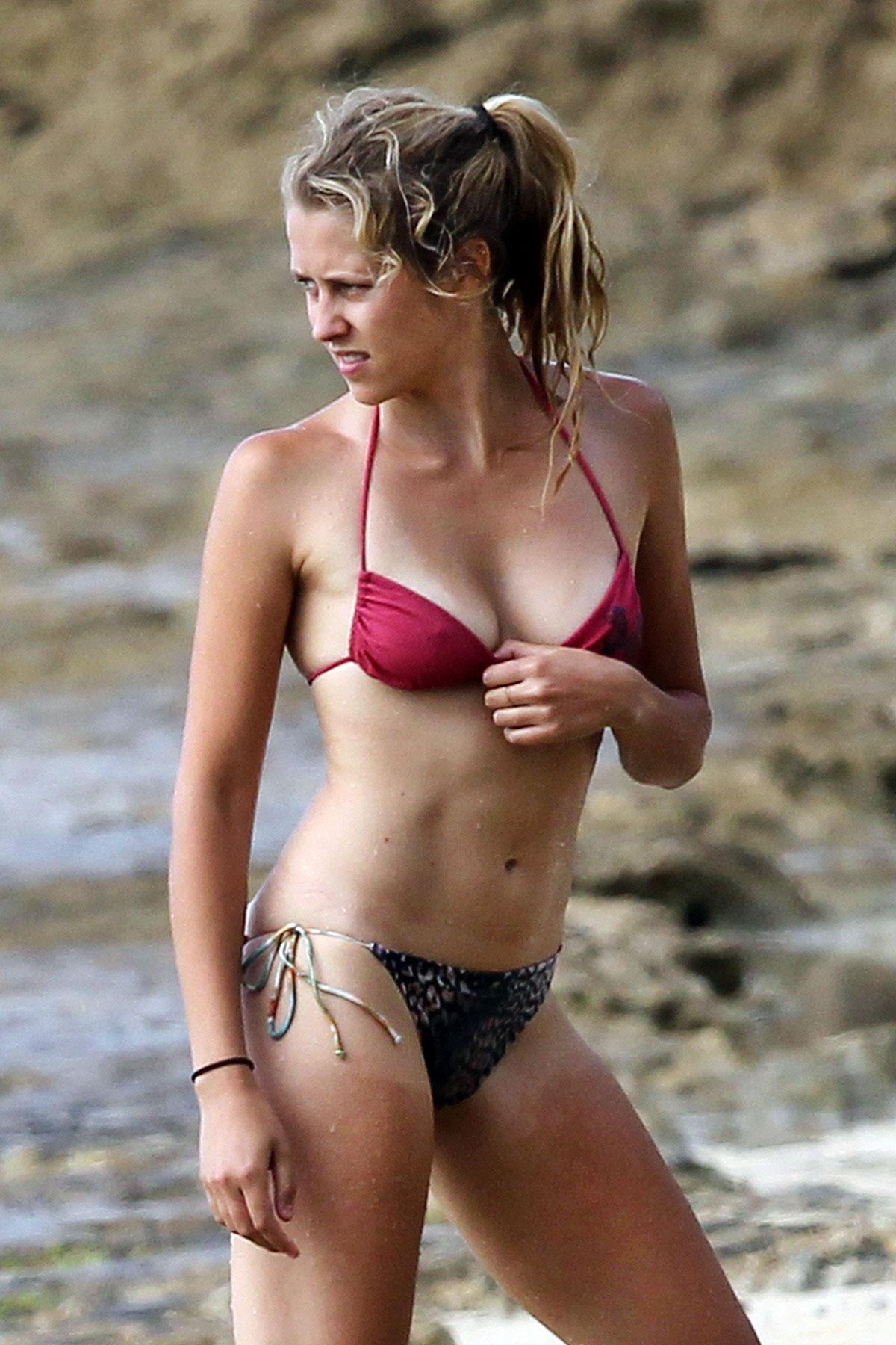 TERESA PALMER in Bikini at the Beach in Hawaii – HawtCelebs