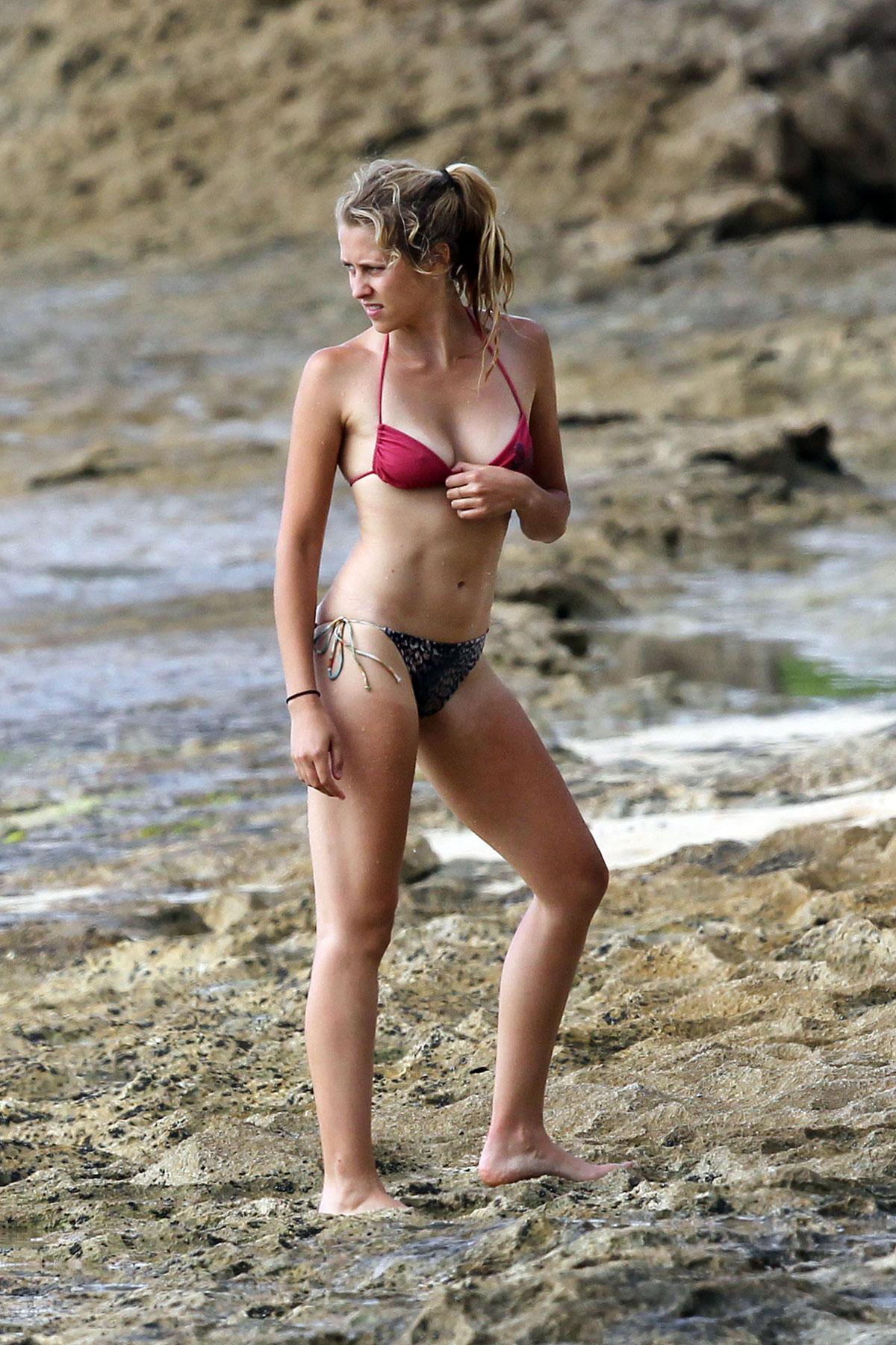 462eaa2109 TERESA PALMER in Bikini at the Beach in Hawaii – HawtCelebs