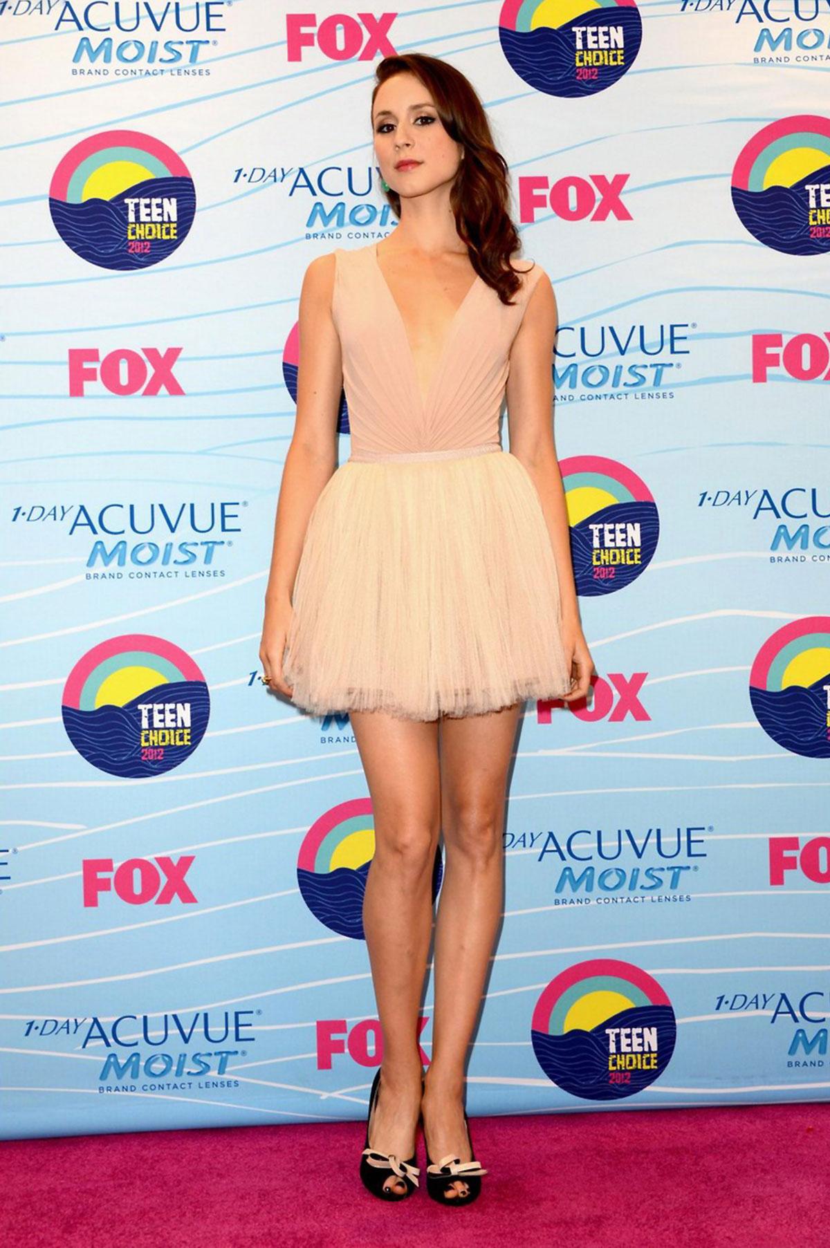 TROIAN BELLISARIO At 2012 Teen Choice Awards In Universal