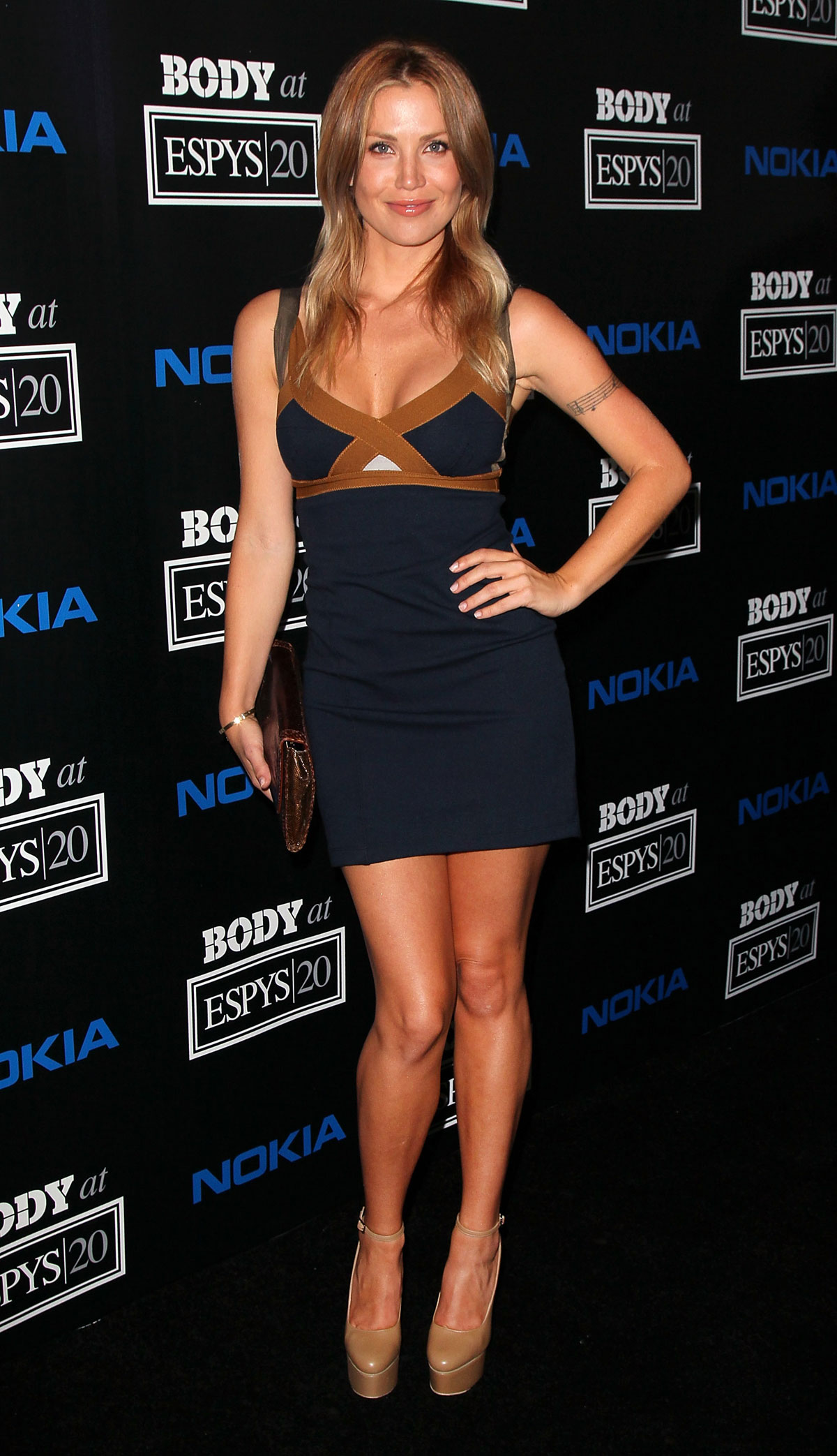 Willa Ford At Espn S Body Issue Party In Los Angeles