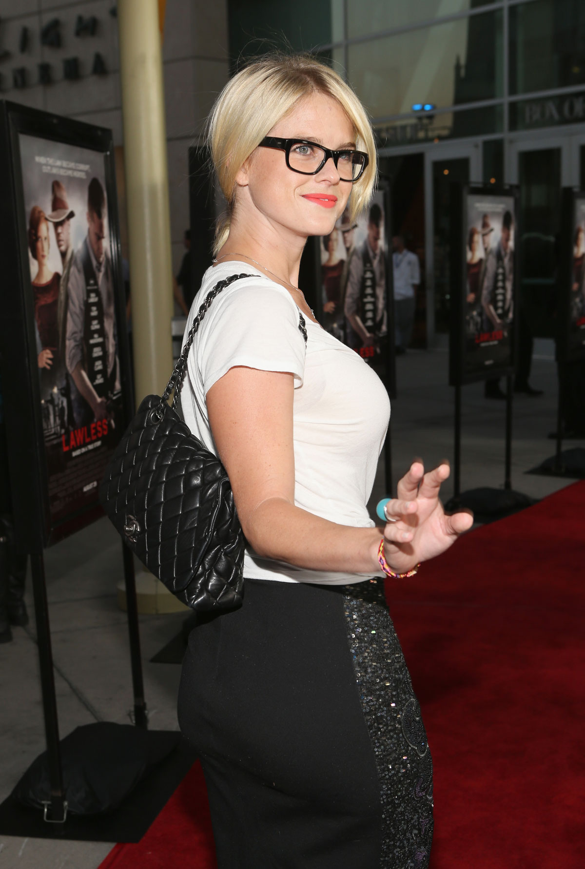 Alice Eve At Lawless Premiere In Los Angeles  Hawtcelebs-3709