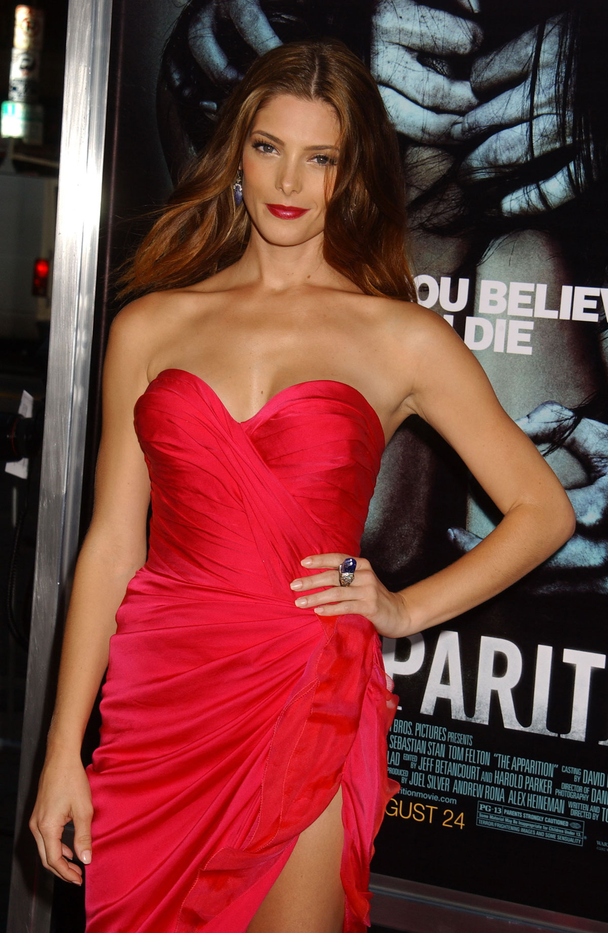 ASHLEY GREENE At The Apparition Premiere