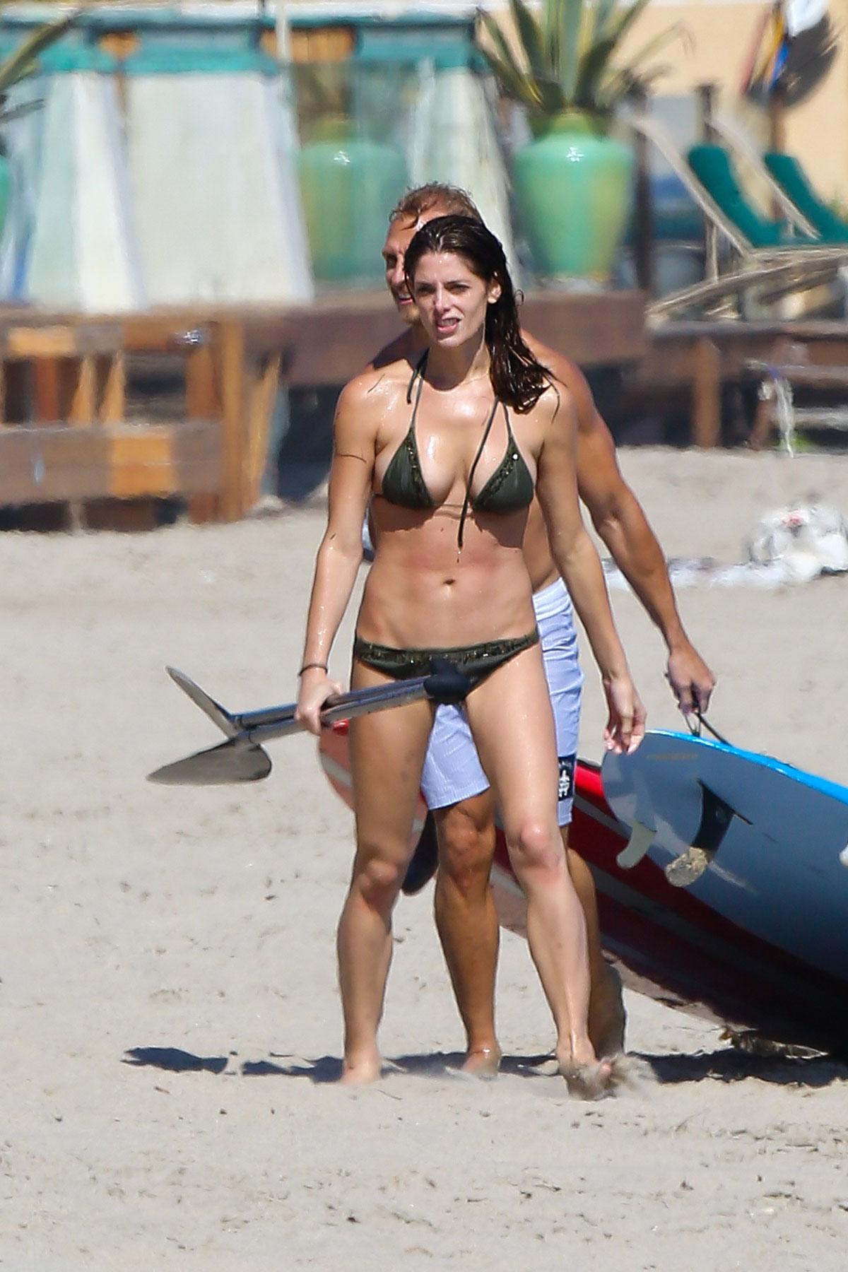 ASHLEY GREENE in Bikini - HawtCelebs