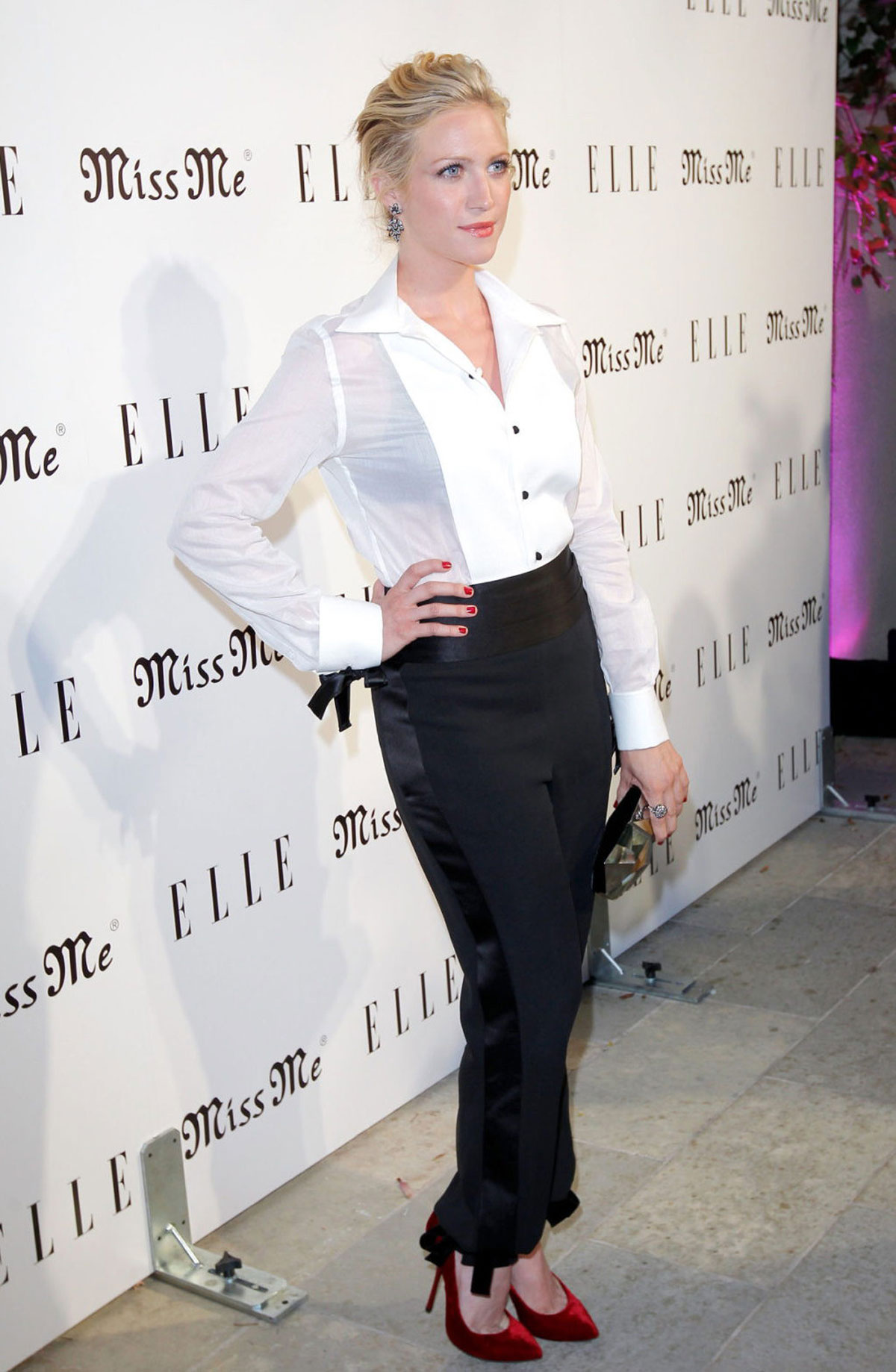 BRITTANY SNOW at Elle ...