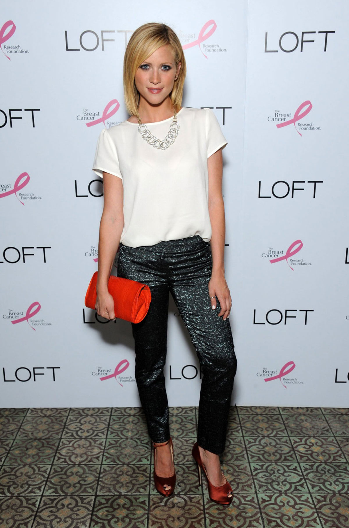 BRITTANY SNOW at GenAr...