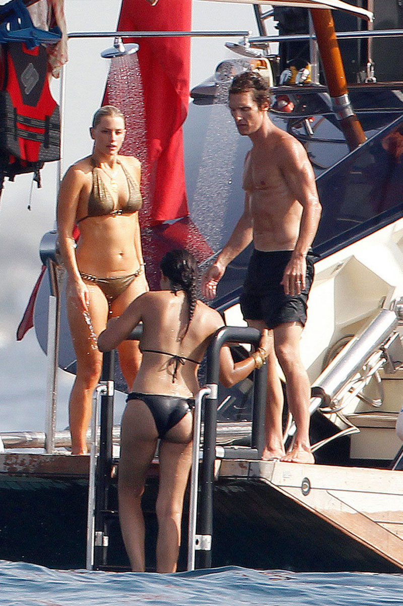 CAMILA ALVES In Bikini Shows Off Her Baby Bump At The