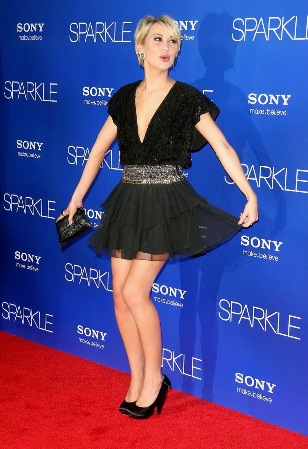 chelsea kane at sparkle premiere in hollywood � hawtcelebs