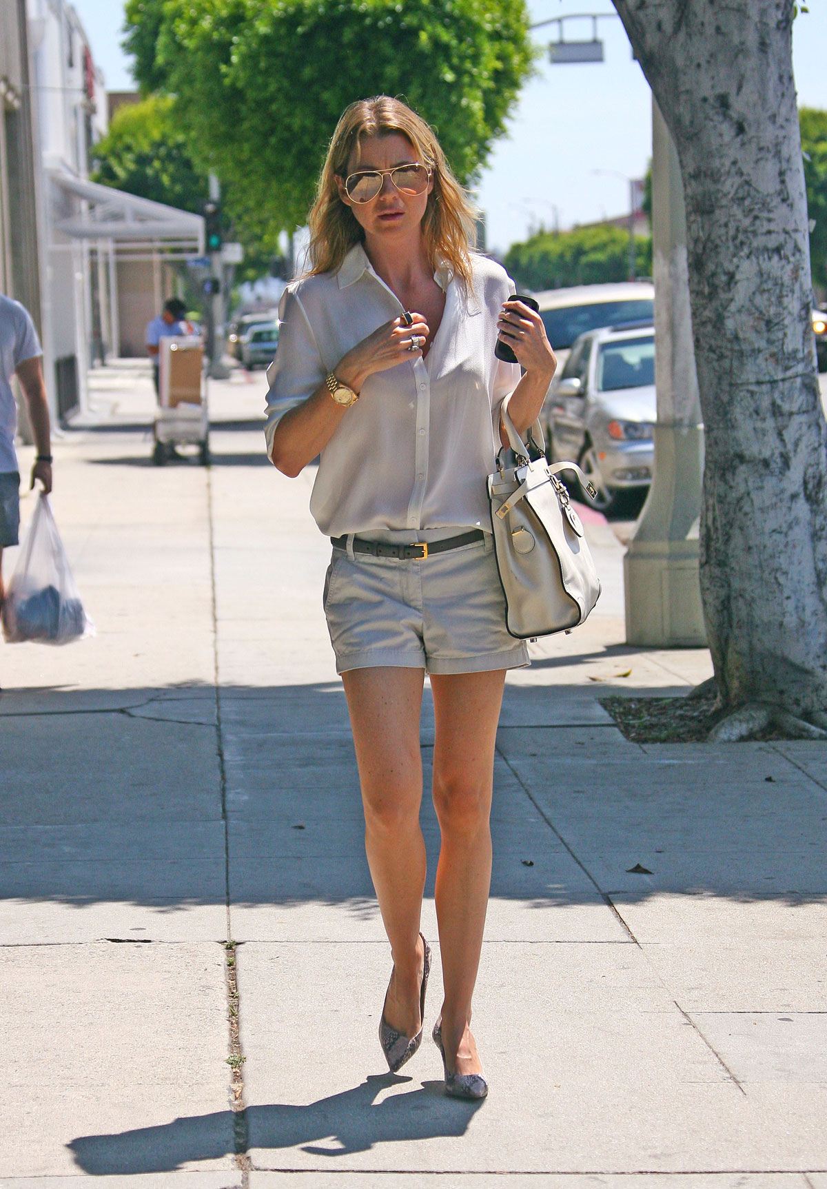 Ellen Pompeo Leggy Candids West Hollywood Demi Lovato Official Video