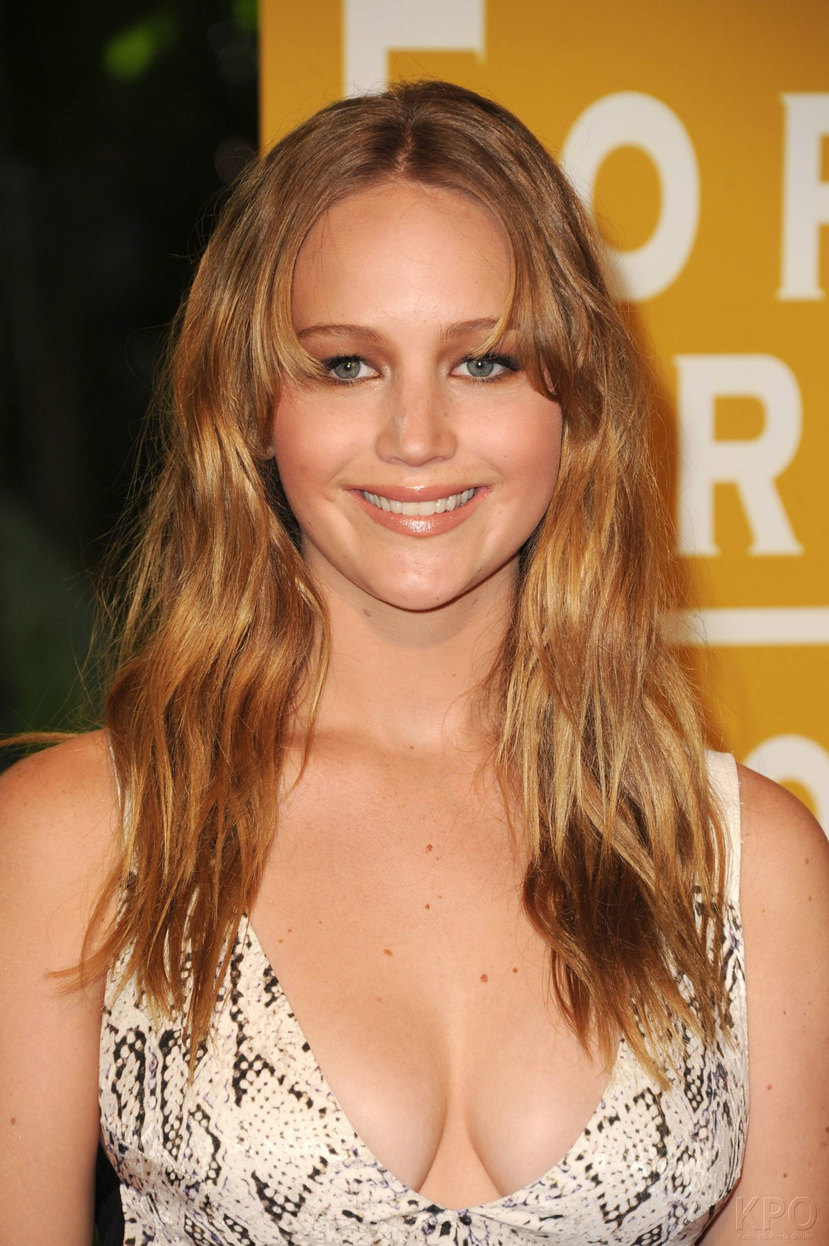 Jennifer Lawrence Makeup Tutorial: JENNIFER LAWRENCE At HFPA Installation Luncheon In Beverly