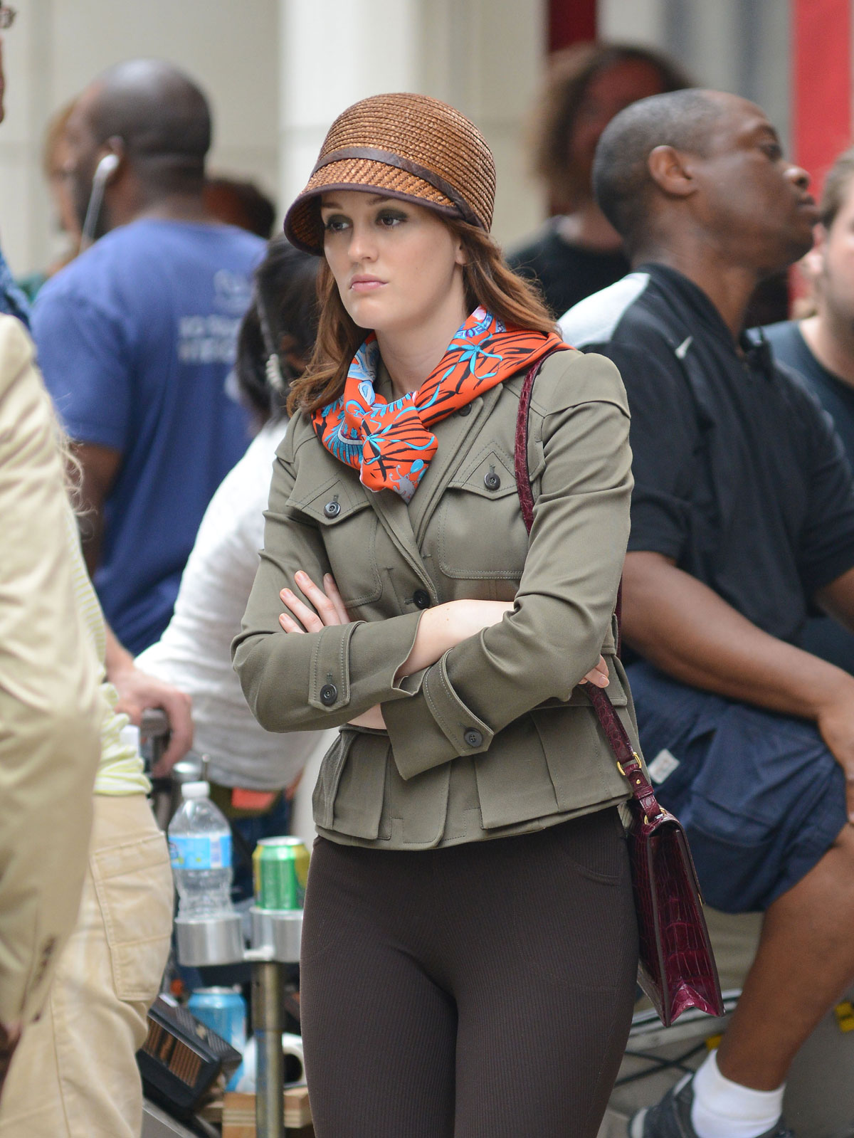 leighton meester in tight pants