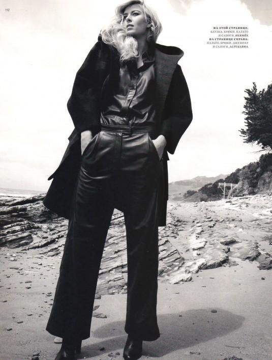 MARIA SHARAPOVA in Harper�s Bazaar Magazine, Russia August 2012 Issue
